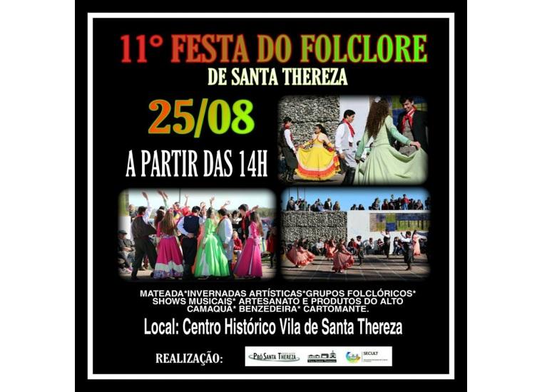 11ª Festa do Folclore de Santa Thereza